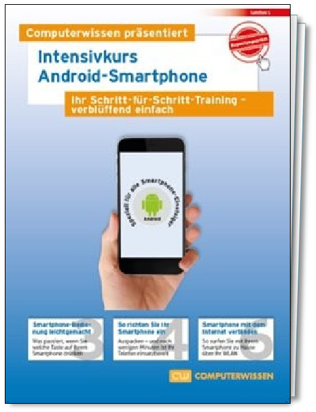 Intensivkurs Android-Smartphone